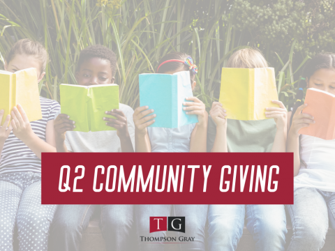 Q2 Community Giving